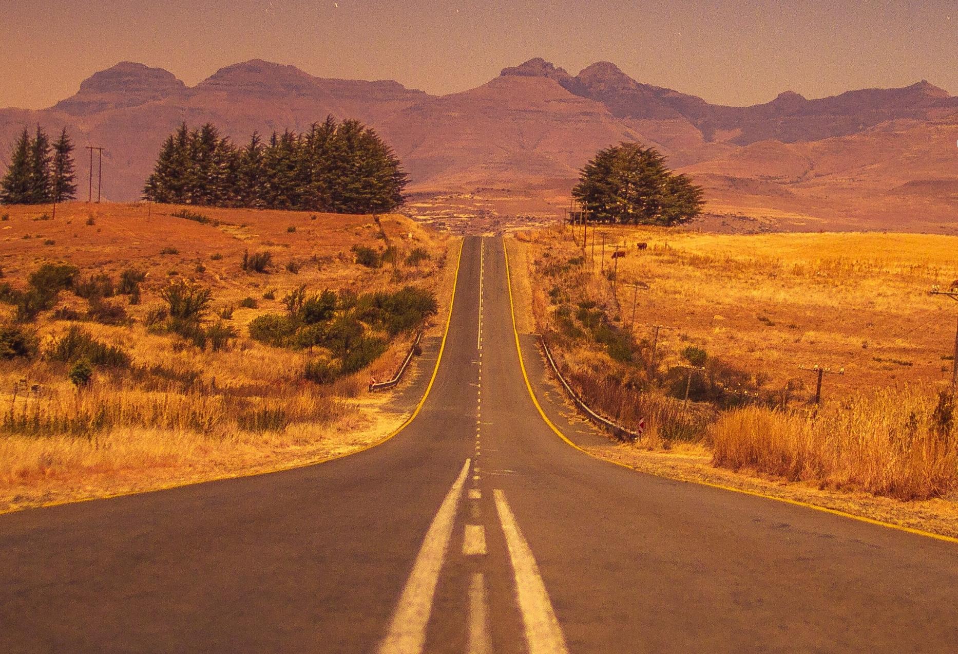 wandering path